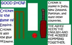 Cricket - the glue of the empire.