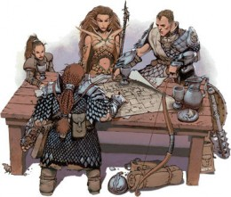 A typical adventuring party.