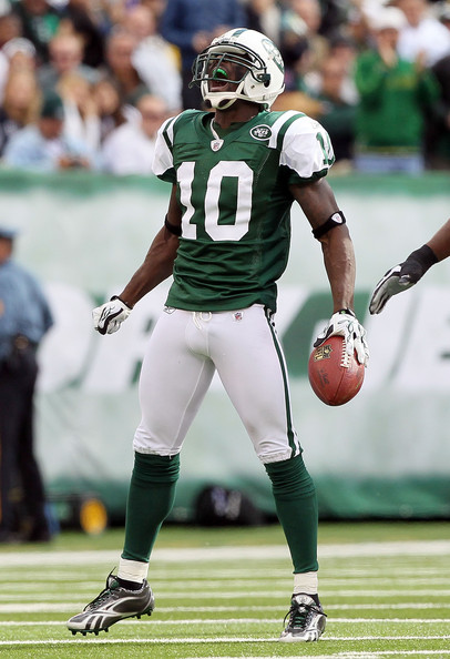 WR Santonio Holmes is Sanchez favorite target and best offensive weapon