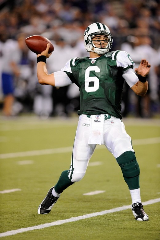 QB Mark Sanchez needs to continue to improve his game in order to get past the AFC Championship