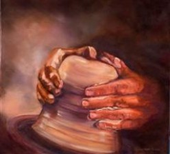 The Potter's Hand:  A Poem