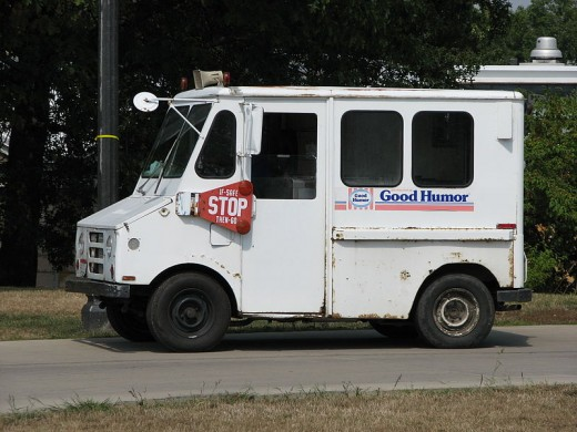 Are you old enough to remember the ice cream truck bell?
