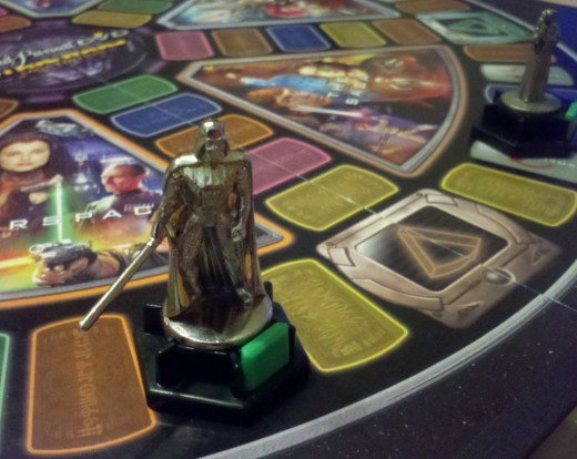 The Force was not strong with Darth Vader in this game of Trivia Pursuit.