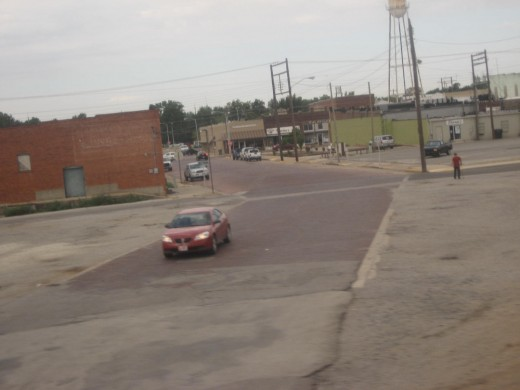 Pauls Valley streets