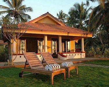 A luxury cottage in Taj Holiday Village Resort