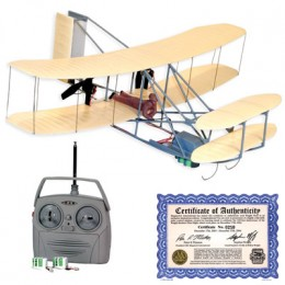 Radio Control Megatech MTC7703 WRIGHT FLYER RC Model