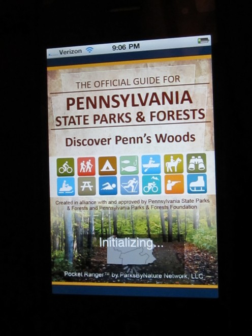 Pa State Parks and Forests. Check for your state in the app store