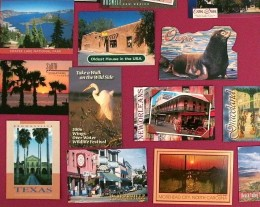 Keeping in touch with postcards