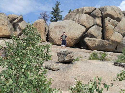 Boulder Formations on the Gem Lake Trail