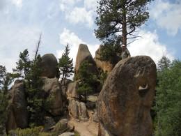Gem Lake Trail Rock Formations