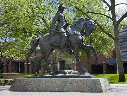 Anthony Wayne, founder of Fort Wayne, Indiana