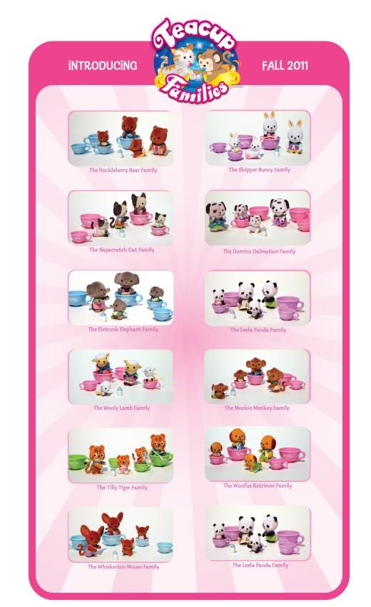Teacup Families Toys