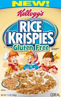 Kellogg's Gluten Free Rice Krispies Released May, 2011