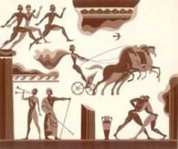 Athletes of Ancient Greece - the revelation of the Mars activity