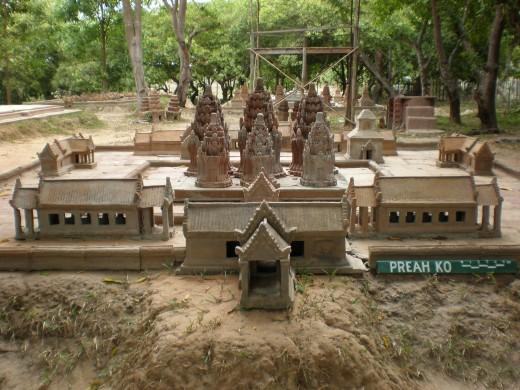 Preah Ko, Temples of Angkor, Cambodia (original design)