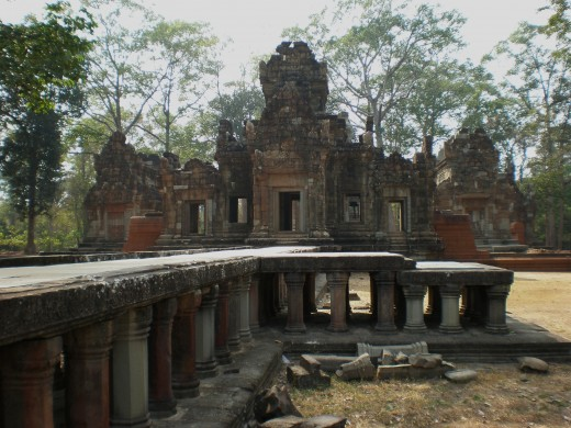 Chao Say Tevoda, Temples of Angkor, Cambodia