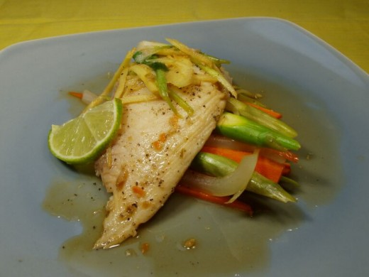 Steamed Tilapia Is So Delicious and good for you.