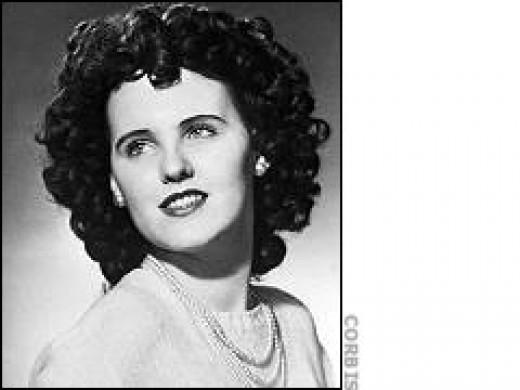 Elizabeth Short AKA The Black dahlia