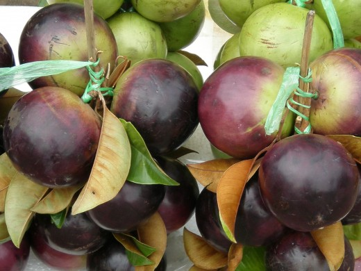 One of several exotic fruits to be enjoyed during the visit to Angkor's Temples.