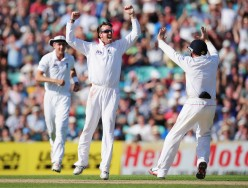Swann rejoices--Familiar sight in the series