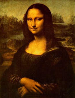 What the fuss was all about: Da Vinci's famous painting. Image via Art Renewal Center