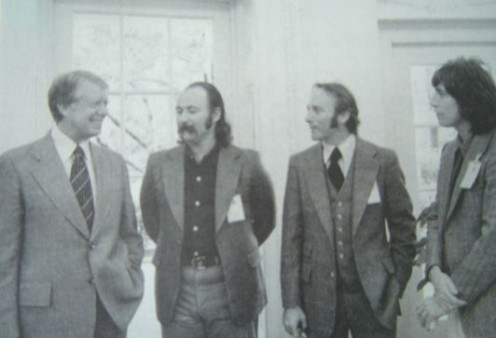 CSN at White House with President Carter