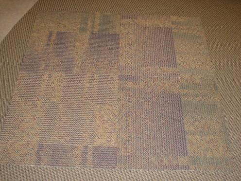 Carpet tiles Quarter turn