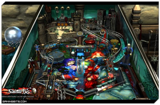 Pinball FX 2: Excalibur Table