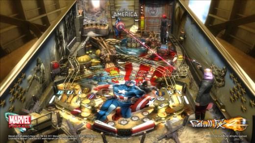 Pinball FX 2: Captain America Table