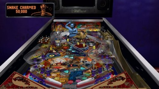 Pinball Hall of Fame: The Williams Collection Tales of the Arabian Night