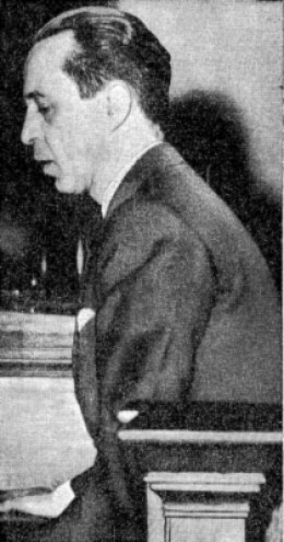 Wright testifying at his trial
