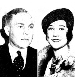 John KImmell and Evelyn Wright - they kissed and perished
