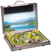 Marklin Z Briefcase Layout
