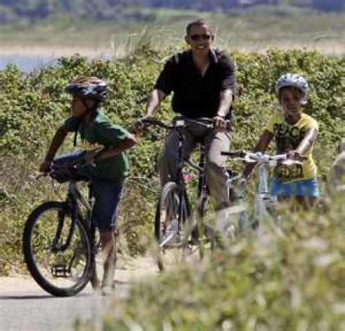 Biking on Martha's Vineyard