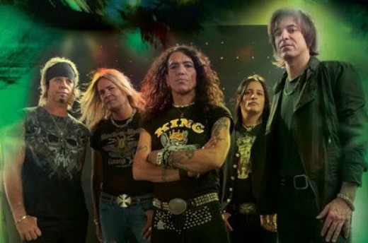 Ratt 2010, left to right: Bobby Blotzer, Carlos Cavazo, Stephen Pearcy, Robbie Crane, Warren DeMartini