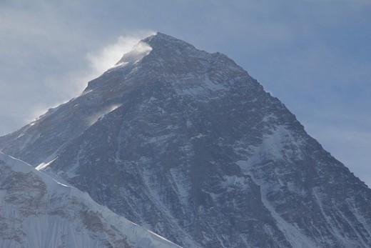Everest from Kala Pattar taken with my boyfriend's Canon 60D