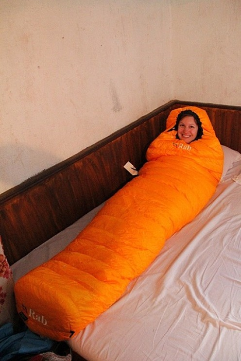 Loving my Rab Down sleeping bag!