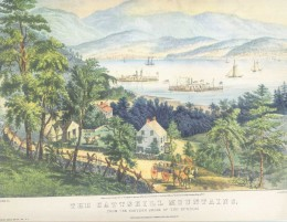 The Catskill Mountain Print; Donald Art Co. reproduction