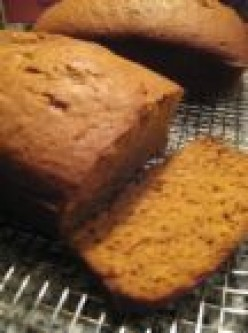 Moist and Delicious Pumpkin Bread
