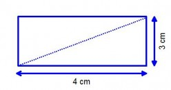 Rectangles, Properties and mathematical facts of a rectangle (oblong)