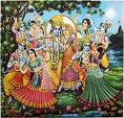 IF LORD KRISHNA PLAYS FLUTE ANY ONE CAN DANCE FREELY.