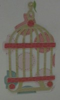 Birdcage cutout and assembled
