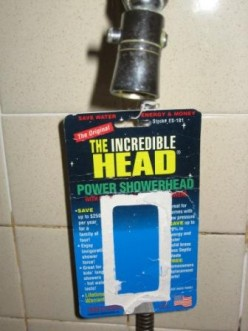 Low-Flow GPM Shower Heads Conserve Water