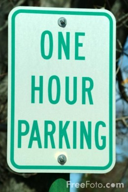 I can get one-hour parking, but not one-hour glasses.