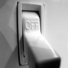 A simple flick of this switch to off will save on your energy bills!