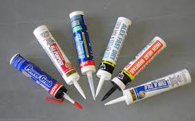 There are lots of easy to use caulk tubes that do not require a caulk gun!