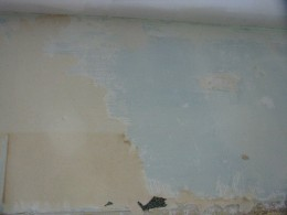 After the top layer of wallpaper is removed.