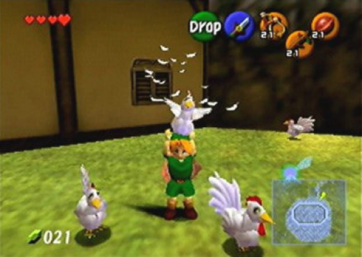 Screwing with the local poultry is only the start of the fun you can have in Ocarina of Time
