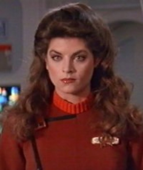 KIRSTIE ALLEY Cheers. And Jennie Craig spokeswoman. Kirstie is sultry, sweet and pretty. Can anyone find her a job. Any job. Please?