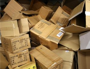 Make sure you have plenty of boxes, stacked neatly